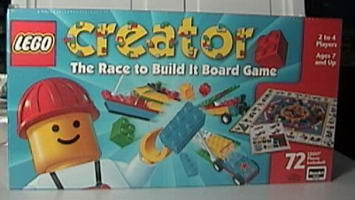 Набор LEGO 03093 The Race to Build It Board Game