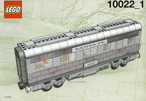 Набор LEGO 10022 Santa Fe Cars - Set II (dining, observation, or sleeping car)