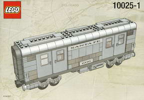 Набор LEGO 10025 Santa Fe Cars - Set I (mail or baggage car)