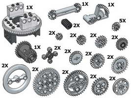 Набор LEGO 10076 TECHNIC Gear Wheels