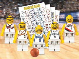 Набор LEGO NBA Basketball Teams