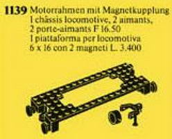 Набор LEGO 1139 Motor-Mount Plate with Magnetic Couplers