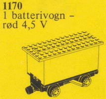 Набор LEGO 1170 Replacement Train Battery Tender