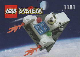 Набор LEGO 1181 Space Port Spacecraft