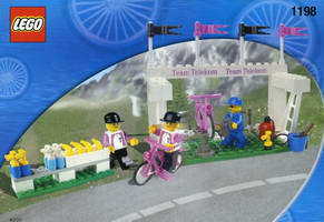 Набор LEGO 1198 Service Team - 2 Bikers with Service Tools