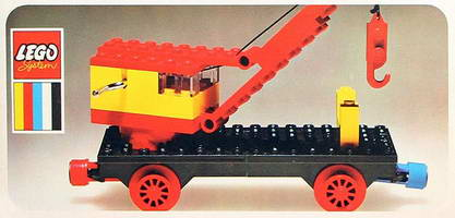 Набор LEGO 128-2 Mobile Crane (Train Base)