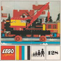 Набор LEGO 128-3 Mobile Crane (Plate Base)