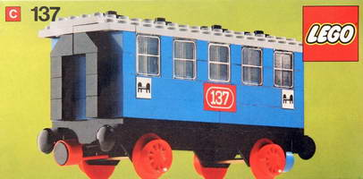 Набор LEGO Passenger Sleeping Car