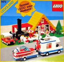 Набор LEGO 1472 Holiday Home