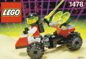 Набор LEGO 1478 Mobile Satellite Up-Link