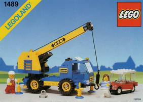 Набор LEGO 1489 Mobile Car Crane