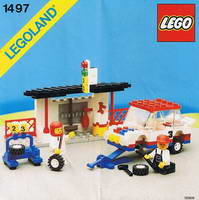 Набор LEGO 1497 Rally and Pitcrew Team