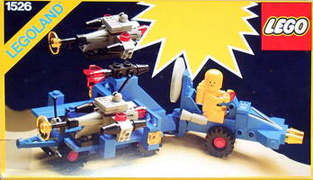 Набор LEGO 1526 Space Radar Buggy