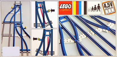Набор LEGO 154 Switch Track - 1 Right and 1 Left