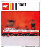 Набор LEGO 1551-2 Sterling Luggage Carrier