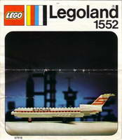 Набор LEGO 1552-2 Sterling Boeing 727
