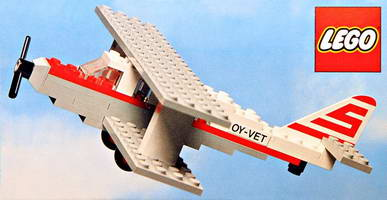 Набор LEGO 1555-2 Sterling Airways Biplane