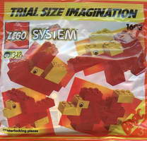 Набор LEGO 1603 Trial Size Imagination