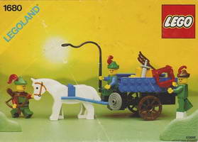 Набор LEGO 1680 Hay Cart with Smugglers