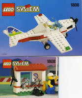 Набор LEGO 1808 Light Aircraft and Ground Support