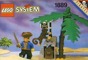 Набор LEGO 1889 Pirate's Treasure Hold