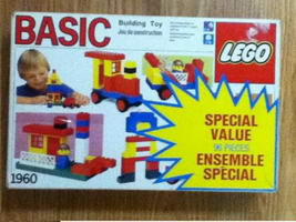 Набор LEGO 1960-2 Special Value 96 pieces (Canadian Set)