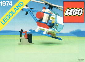 Набор LEGO 1974-2 Flyercracker USA