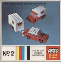 Набор LEGO 2-10 Mini-Wheel Model Maker No. 2