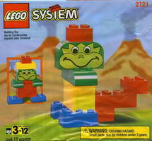 Набор LEGO 2121 Jack in the Box Promotional Set: Stomper