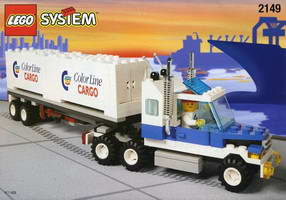Набор LEGO 2149 Color Line Container Lorry
