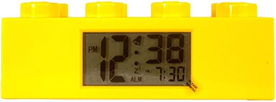 Набор LEGO 2856238 LEGOВ® Yellow Brick Clock