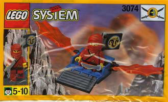 Набор LEGO 3074 Red Ninja's Dragon Glider
