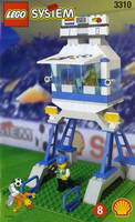 Набор LEGO 3310 Commentator and Press Box