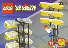 Набор LEGO 3313 Light Poles