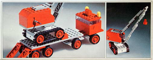 Набор LEGO 337-2 Truck with Crane and Caterpillar Track