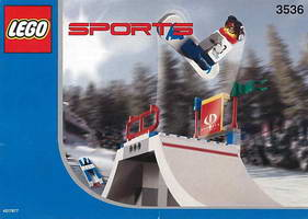 Набор LEGO 3536 Snowboard Big Air Comp