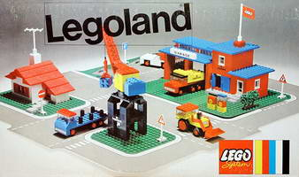 Набор LEGO 355 Town Center Set with Roadways