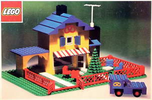 Набор LEGO 361 Tea Garden Cafe with Baker's Van