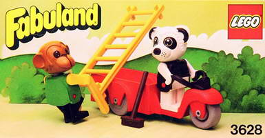 Набор LEGO 3628 Perry Panda & Chester Chimp
