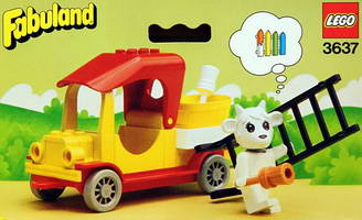 Набор LEGO 3637 Gertrude Goat's Painter's Truck