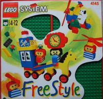 Набор LEGO 4145 Freestyle Playcase