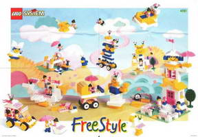 Набор LEGO 4151 Girl's Freestyle Set