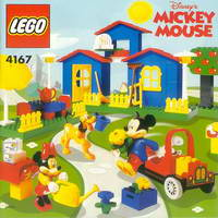Набор LEGO 4167 Mickey's Mansion