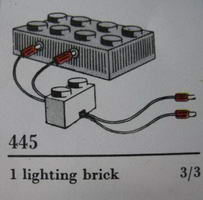 Набор LEGO 445-2 Lighting Device Pack (The Building Toy)