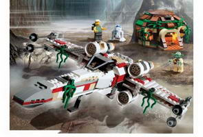 Набор LEGO 4502-2 X-wing Fighter (Dagobah), Original Trilogy Edition box