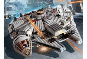 Набор LEGO 4504-2 Millennium Falcon (Redesign), Original Trilogy Edition box