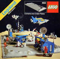 Набор LEGO 453 Two Crater Plates