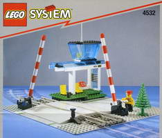 Набор LEGO 4532 Manual Level Crossing