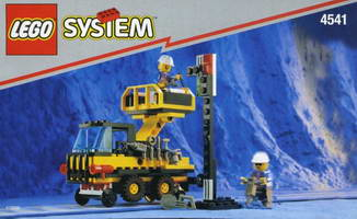 Набор LEGO 4541 Rail and Road Service Truck