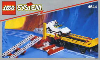 Набор LEGO 4544 Car Transport Wagon with Car